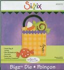 SIZZIX Bigz Die TREAT BAG  CANDY Halloween