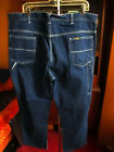 VTG KEY IMPERIAL Denim Carpenter Dungaree Blue Jeans Mens 40x29 MADE IN USA