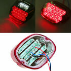 Lens Stop Tail Brake LED Light for Harley Dyna Super Glide Custom EFI FXDCI Red