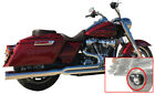 Billet Cat 2 1 Chrome Exhaust + Angle Tip DD Harley Touring M8