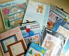 Baby Kids Counted Cross Stitch Kits Lot Bears Bunnies Birth Samplers Babies