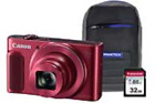 1073C014 32GBCASE Canon PowerShot SX620 HS Red Camera Kit in 32GB SDHC Class 10
