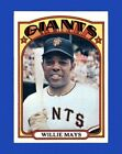 Vintage Willie Mays Baseball Card Timeline: 1951-1974 114