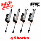 Kit 4 Fox Shocks 2.5-4 lift Front & Rear for Jeep Wrangler JK 2010-17