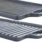 Large Double Sided Griddle Pan Grill Tray Frying Plate Camp Fire Cooking 495cm