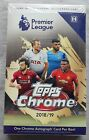 Topps Premier League Soccer Chrome Hobby Box 2018 19 One Autograph