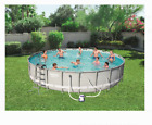 4Feet Swimming Pool 4FT Deep 24FT Above Ground Aboveground Large Big Kit Best XL