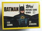 1989 Topps Batman Movie Trading Cards 9