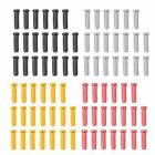20X Alloy Bicycle Brake Gear Cable End Crimps Cap Old School BMX MTB Road S B7M9
