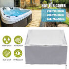 3 Sizes Hot Tub Spa Square Cover Cap Anti UV Waterproof Protector Outdoor