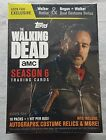 Topps the Walking Dead Season 6 Trading Cards Blaster Box 2017 Collectors Cards