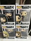 Funko Pop Rocks: Metallica Collectible Set Of 4. New In Box