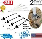 Ground Anchor Kit Set of 4 Earth Augers