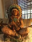 American Native Indian Universal statuary Corp Chicago 1972 225