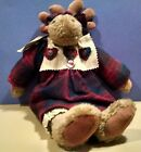 BOYDS MINNIE the MOOSE The Artisan Series and Small Stuffed Moose