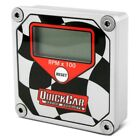 Quickcar Racing 611-099 Quicktach Lcd Recall Tachometer Checkered