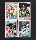 1982 Topps Football complete nm-mt clean set
