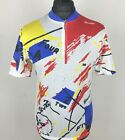 Vintage SMS Santini Cycling Jersey Mens Size XL Numbers Bike Shirt Rare Italy