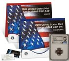 2019 MINT UNCIRCULATED SET w 2019 FIRST W LINCOLN CENT NGC MS68RD LINCOLN LABEL