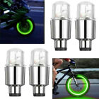 48x Led Wheels Tire Air Valve Stem Caps Bluered Neon Light For Car Motor Bike