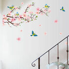 Peach Blossom Flower Magpie Removable Wall Stickers Decal Art Decor PVC DIY
