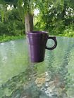 LATTE MUG CUP mulberry purple FIESTA WARE new