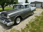 1955 Chevy Belair more pro street then original 406 4 spd 373 gears mini tubbed