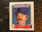 Dan Quisenberry Royals 1988 Kenner Starting Lineup Talking Baseball CARD ONLY