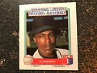 Lou Whitaker Tigers 1988 Kenner Starting Lineup Talking Baseball CARD ONLY
