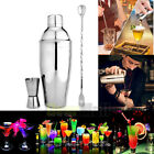 17Ounce Cocktail Shaker Bar Set with Accessories Martini Measuring Mixing Kit