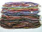 50 Strands 16 Assorted Shapes and Sizes Chevron Glass Beads Wholesale Bulk GM3