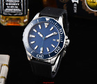 45mm PLANCA Steril Dial Date Luminous Steel MIYOTA Automatic Movement mens Watch