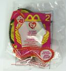 2000 McDonalds Happy Meal TY Slither The Snake Beanie Baby Plush Toy # 2