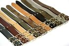 Genuine Leather Watch strap Military band fits Panerai 18m-26mm gift man revits