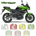 For Kawasaki VERSYS #style 2 Cool wheel stickers motorcycle wheel sticker#daoda