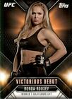 Ronda Rousey MMA Cards and Autographed Memorabilia Guide 18