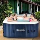 4 Person Inflatable Portable Outdoor Hot Tub