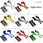 For Yamaha YZF R125 2008-2012 CNC Short Brake & Clutch Levers Handle Grips Set e