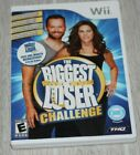 THE BIGGEST LOSER CHALLENGE Wii COMPLETE W MANUAL