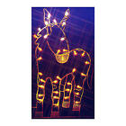 Vickerman 47 Donkey Nativity Silhouette Lighted Wire Frame Christmas Yard Decor