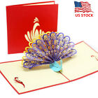 3D DIY Pop Up Greeting Cards Happy Birthday Handmade Anniversary Gift Postcards