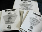 Webway Refill Pages and Portrait Sleeves Various Sizes