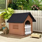 XL DOG KENNEL FOR X LARGE DOG HOUSE OUTDOOR DURABLE PET CABIN SHELTER WITH DOOR