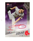 2017 Topps Now Chis Sale Red Sox Postseason Limited Ed. Autograph Card 12 25
