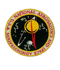 NASA Space Iron on Sew on Embroidered Patch Badge T shirt Patch