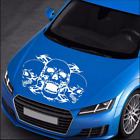 Universal Custom 35x60cm Skull Stickers Vinyl Graphics Decals For Car Hoods Body