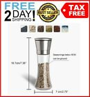 Salt and Pepper Grinder Set Ceramic Mills Stainless Steel Shakers Spice Mill
