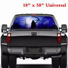 18 x 58 Tint Eye catching Sticker Rear Window Graphic Decal For Car Truck SUV