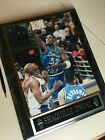 Shaquille O'Neal RARE Autograph ROOKIE Orlando Magic FRAMED PHOTO; Certified!!!!