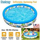 48 Inflatable Swimming Pool Center Lounge Family Kids Water Play Fun Backyard
